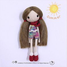 Weibo crochet activity - 小季 @ Summer ☀️ Pattern by: TCP-仰仰