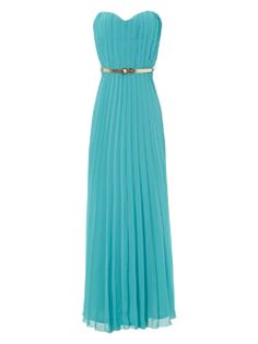 was £ 65 now £ 60 This bargain maxi dress would stand out at any weddings or events as the colour is so bold and summery. This dress would look great with a gold shell clutch to stay on trend with the theme.