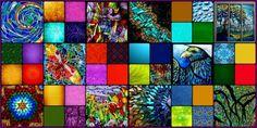 Tiffany Mosaic 2-tile