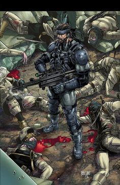 Metal Gear Solid - Ryan Pasibe