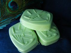 Goats Milk Soap Sparkling Cucumber Mint by theprismaticpeacock, $8.00