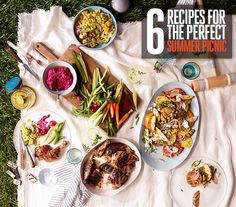 6 recipes for the perfect summer picnic