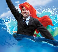 David Tennant In Places He Shouldn't Be! // The Little Mermaid #disney