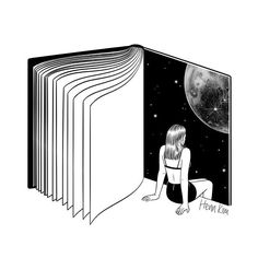 Reading is dreaming with your eyes open 책을 읽는다는 건 눈 뜬 채 꿈을 꾸는 것 . . . #reading #book #universe