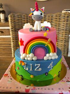 Fondant, Unicorn, Birthday Cake, Desserts, Food, Tailgate Desserts, Deserts, Birthday Cakes, Essen