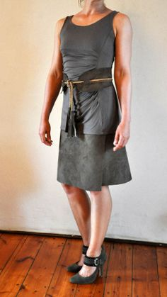 tales of love and chocolate: How to make a no-sew, wrap-around skirt