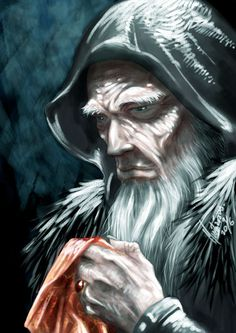 Growing this beard when I retire.  There, I said it.  Lonesome King by *MischievousMartian on deviantART
