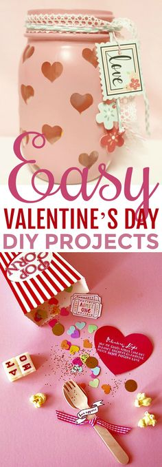 If you're looking to make some fun and unique projects this  Valentine's Day then look no further. You're going to love these  fun Easy Valentine's Day DIY Projects perfect to make for yourself or  as a gift. #valentines #valentinesday  #valentinesdaycrafts #valentinesdayprojects #valentinesdaygiftideas  #valentinesdaygifts #valentinesdaydiy #diyvalentinesday #diyvalentinescrafts  #diyvalentinesdecor #diyvalentinesdaydecor