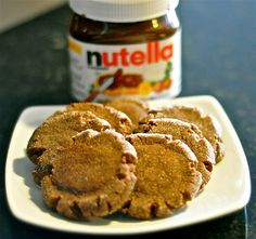 4 Ingredient Nutella Cookies - next on the list... did you know calories don't count in cookie dough? well they don't.