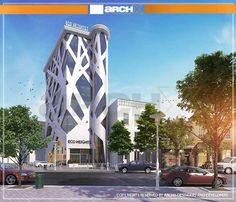 Building Design, Multi Story Building, Commercial, Contemporary