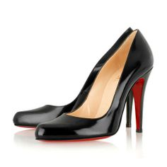 Christian Louboutin Decollette 100 Jazz Pumps Black
