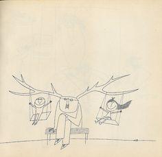Bornografie (Bornography)    Adolf Born´s book of drawings. Prague 1970