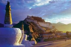 The Potala Palace - Lhasa, Tibet Autonomous Region, China