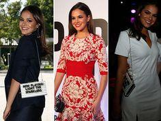 Bruna Marquezine esbanja elegância aonde chega. Confira os looks → #redeglobo #gshow #moda #fashionrio #saia #blusa #vestidos #bolsas #sapatos #Acessórios
