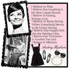 I believe in pink.