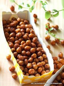 ciecierzyca-w-przyprawach-ala-orzeszki Nutella, Food Inspiration, New Recipes, Beans, Food And Drink, Healthy Eating, Pizza, Snacks, Vegetables
