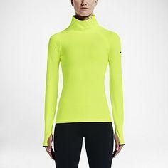 Nike Pro Warm Emboss Heights Vixen Zip Women's Training Top. Nike.com