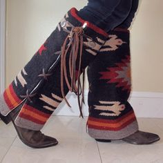 Navajo Blanket Style Boot Cover
