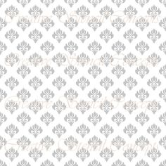 Modern Damask Allover Wall Stencil MULTIPLE SIZES AVAILABLE on Industry Standard 7 Mil Blue Mylar Design 83257618
