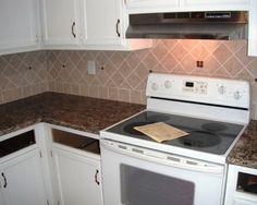 Kitchen Beautiful Kitchen Decor With Santa Cecilia Granite Countertop Granite Countertops Cabinets Cabinet Dark Doors White