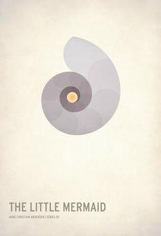 Beautiful Minimalist Posters Simplify Classic Children's Tales