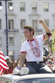 """ Sean Penn is honored his second Oscar for his dynamic portrayal of San Francisco gay activist and martyr, Harvey Milk. Nominated for eight Academy Awards, the film also won for Dustin Lance Black's original screenplay. Harvey Milk, Sean Penn Milk, Gay Rights Movement, Lgbt History, Lance Black, Lgbt Rights, Human Rights, Bros, Best Actor"