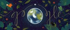 Doodle Sends An Important Message On Earth Day Earth Day Quiz, Earth Day Tips, Google Doodles, Images Google, Art Google, Google Days, Momo The Cat, Les Doodle, Google Earth