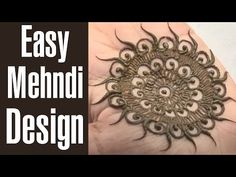 Sep 2015 - Do you love Mehndi Designs but find them too complex and cumbersome. Don't worry, here are 28 Simple Mehndi Designs to try in 2019 that are not only beautiful and unique but are also very easy to do. Round Mehndi Design, Eid Mehndi Designs, Modern Mehndi Designs, Beautiful Mehndi Design, Mehndi Designs For Hands, Mehendi Simple, Mehndi Tattoo, Mehndi Art, Henna Tattoos