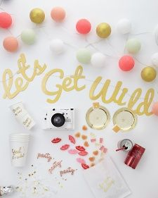 Bachelorette Party Supply Must Haves | Martha Stewart Weddings