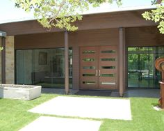 Front Porch On Mid Century Modern Homes Design, Pictures, Remodel, Decor and Ideas - page 25