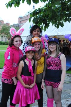 Our night time walkers in 2012 came in some wonderful costumes.