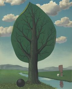 Rene Magritte...La Géante.