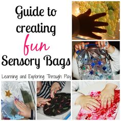 Learning and Exploring Through Play: Sensory Bags