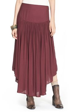 Free People 'Day in the Life' Maxi Skirt available at #Nordstrom