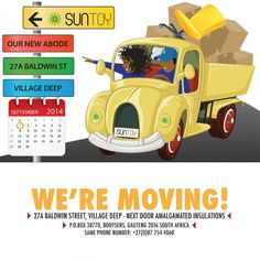 Suntoy is moving!