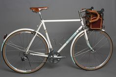 Signal Cycles sport touring bicycle. You absolutely must click through and see the rest of the shots of this beauty.