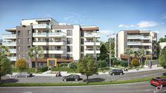 Perspective 3D commerciale pour la commercialisation d'un programme immobilier à Cagnes sur mer pour Bouygues Immobilier
