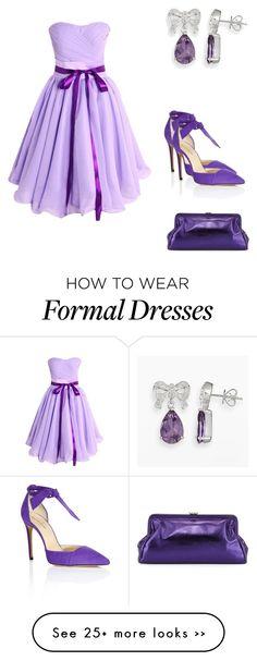 """Beautiful Dress Outfit"" by weavingmaidenbdayseptember21st on Polyvore"
