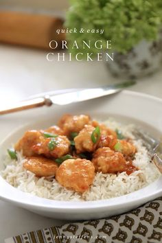 Jenny Steffens Hobick: Orange Chicken | Fast & Easy Dinner