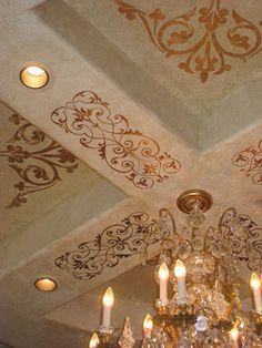 Elegant and simple Ceilings