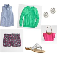 Preppy Style Summer Clothes, Summer Outfits, East Coast Prep, Preppy Style, My Style, Preppy Southern, Playing Dress Up, Spring Summer Fashion, Envy