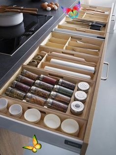 Game-Changing Kitchen Storage Ideas No Matter What Size You're Working With next it comes for order in the kitchen usually every of us are maddening to save it in the highest level. But as soon as you have a good organisation for every stuff in the kitchen you will have a clean and gleaming kitchen in the same get older. #kitchenorganizationideas<br> Make your space work smarter, not harder.