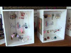 ▶ tuto créer vos présentoirs à bijoux pas chers avec de la récup par kerrozenn - YouTube