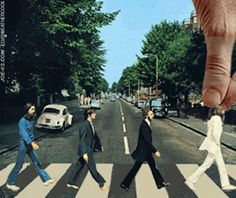 Abbey Road retake. Click the link to see the GIF.