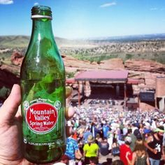 #RefreshinglyAmerican: Red Rocks  Amphitheater Check out our blog on Red Rocks! Red Rock Amphitheatre, Old Logo, Spring Water, Beer Bottle, Rocks, American, Check, Blog, Mineral Water