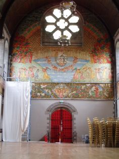 ... executed by Phoebe Anna Traquair in 1900-1901.