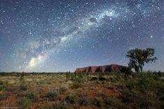 Uluru estrellas australia