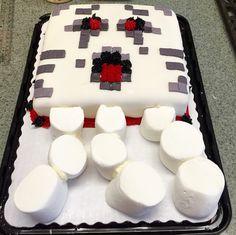 MineCraft Ghast Cake