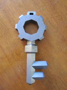 Zelda key out of cardboard. Seems simple enough.