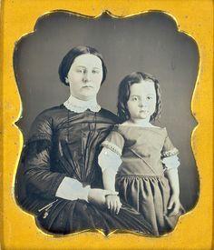 Mother & Daughter Daguerreotype